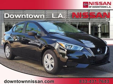New 2020 Nissan Versa S Manual